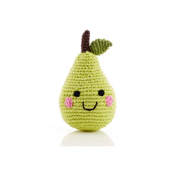 Friendly Pear Rattle