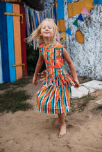 Load image into Gallery viewer, Hey Popinjay Multicolour Stripe Skirt- The Norse Nook