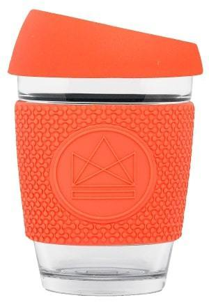 Reusable Glass Coffee Cup: Dream Believer