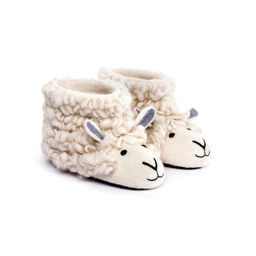 Adult Sherry Sheep Slippers - The Norse Nook Ltd
