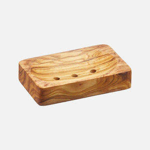 Rectangle Olive Wood Soap Dish