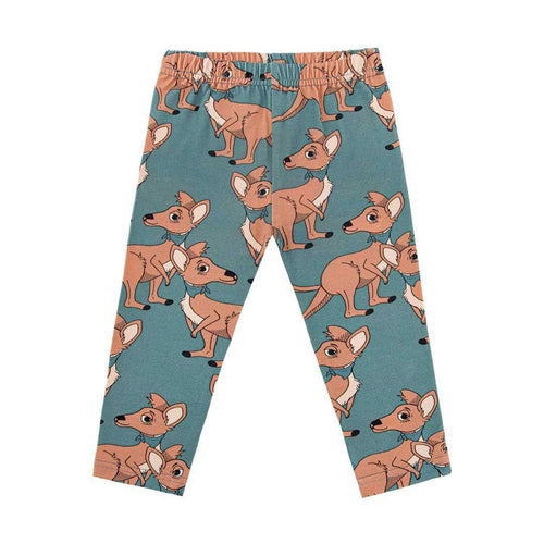 Dear Sophie Blue Cangaroo Leggings - The Norse Nook