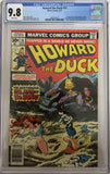 Howard the Duck #15 CGC 9.8 White Pages