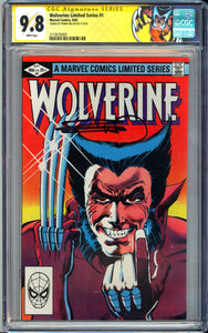 Wolverine Limited Series #1 CGC 9.8 White Pages