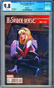 Edge of Spider-Man #2 CGC 9.8 White Pages ~ Variant Edition~