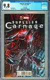Superior Carnage #1 CGC 9.8 White Pages ~Variant Edition~