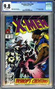 X-Men #283 CGC 9.8 White Pages