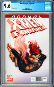 X-Men Forever Annual #1 CGC 9.6 White Pages ~Newsstand Variant~