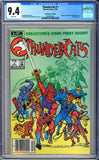 Thundercats #1 CGC 9.4 White Pages ~Canadian Price Variant~