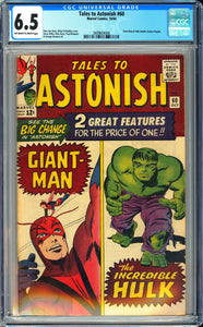 Tales to Astonish #60 CGC 6.5 Off-White to White Pages