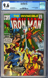 Iron Man #27 CGC 9.6 White Pages