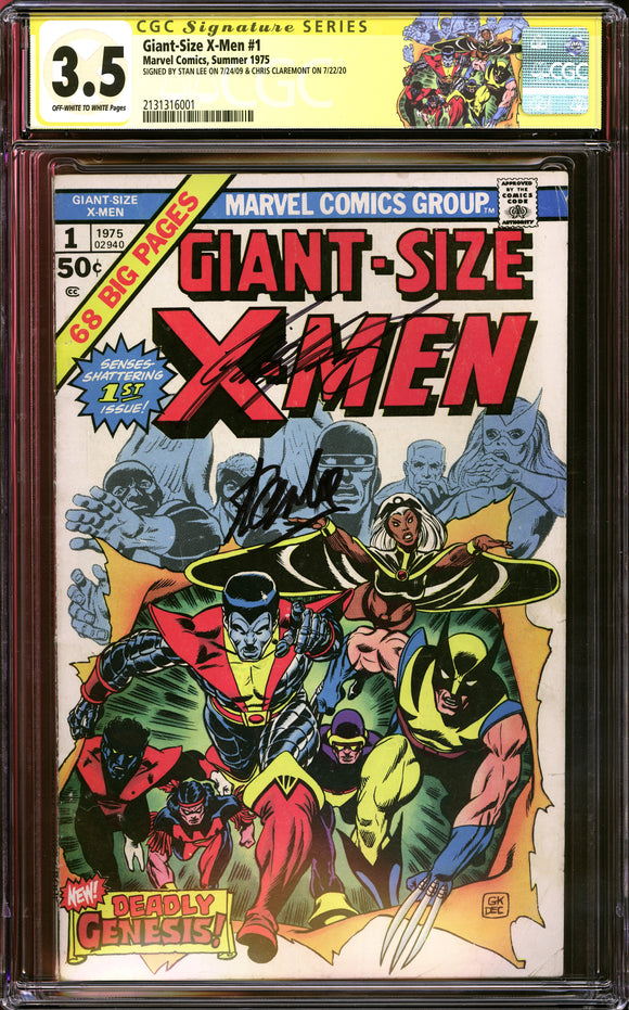 Giant-Size X-Men #1 CGC 3.5 Off-White to White Pages