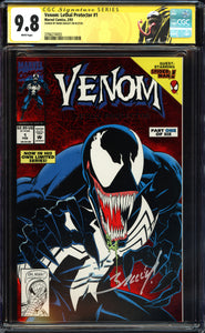 Venom: Lethal Protector #1 CGC 9.8 White Pages