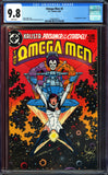 Omega Men #3 CGC 9.8 White Pages