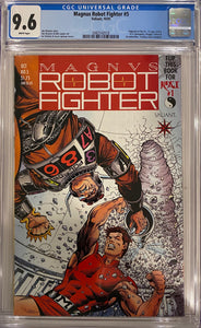Magnus Robot Fighter #5 CGC 9.6 White Pages