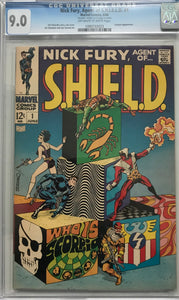 Nick Fury, Agent of S.H.E.I.L.D. #1 CGC 9.4 OW/WP