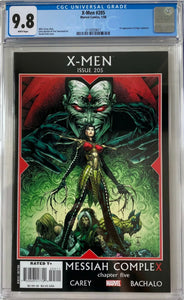 X-Men #205 CGC 9.8 White Pages