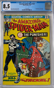 Amazing Spider-Man #129 CGC 8.5 White Pages