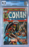 Conan the Barbarian #23 CGC 9.2 White Pages