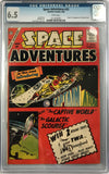 Space Adventures #33 White Pages