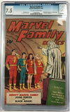 Marvel Family #1 CGC 7.5 Off-White To Off-White Pages