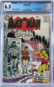 Batman #121 CGC 6.5 Off-White To White Pages