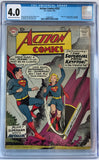 Action Comics #252 CGC 4.0 Cream To Off-White Pages