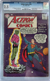 Action Comics #242 CGC 2.5 Cream To Off-White Pages