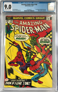 Amazing Spider-Man #149 CGC 9.0 Off-White To White Pages