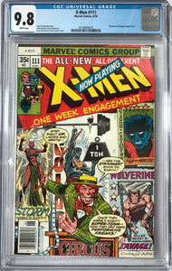 X-Men #111 CGC 9.8 White Pages