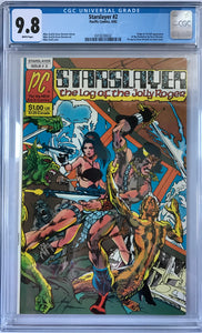 Starslayer #2 CGC 9.8 White Pages