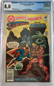 DC Comics Presents #47 CGC 8.0 White Page