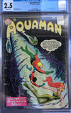 Aquaman #11 CGC 2.5 Off-White Pages