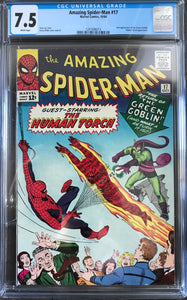 Amazing Spider-Man #17 CGC 7.5 White Pages