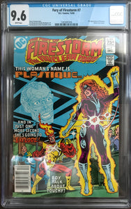 Fury of Firestorm #1 CGC 9.6 White Pages ~CANADIAN VARIANT~