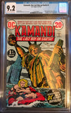 Kamandi, the Lost Boy on Earth #1 CGC 9.2 Cream to Off-White Pages