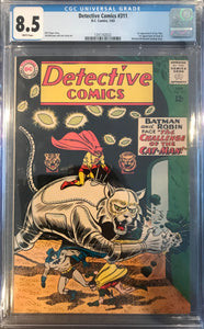 Detective Comics #311 CGC 8.5 White Pages