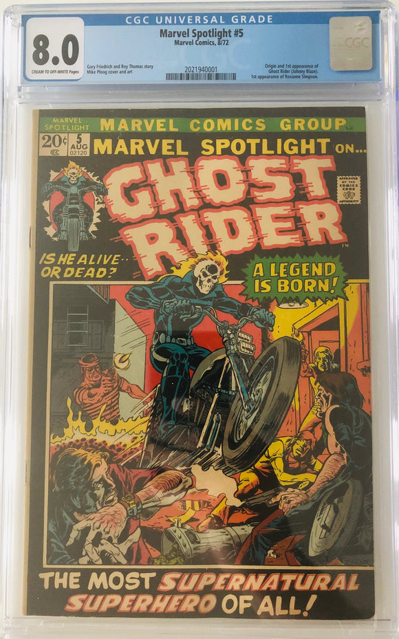 Marvel Spotlight #5 CGC 8.0 Cream to Off-White Pages