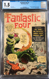 Fantastic Four #1 CGC 1.5 Cream to Off-White Pages