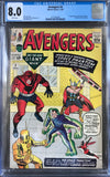 Avengers #2 CGC 8.0 White Pages