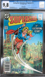 Daring New Adventures of Supergirl #1 CGC 9.8 White Pages