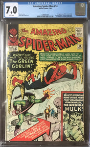 Amazing Spider-Man #14 CGC 7.0 White Pages