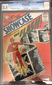 Showcase #4 CGC 2.5 Off-White Pages