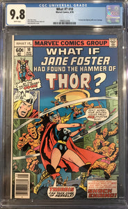 What If!? #10 CGC 9.8 White Pages