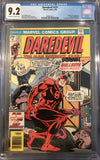 Daredevil #131 CGC 9.2 White Pages