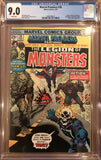 Marvel Premiere #28 CGC 9.0 White Pages