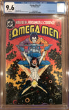 Omega Men #3 CGC 9.6 White Pages