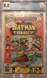 Batman Family #6 CGC 8.0 White Pages