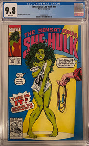 Sensational She-Hulk #40 CGC 9.8 White Pages