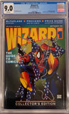 Wizard #1 CGC 9.0 White Pages